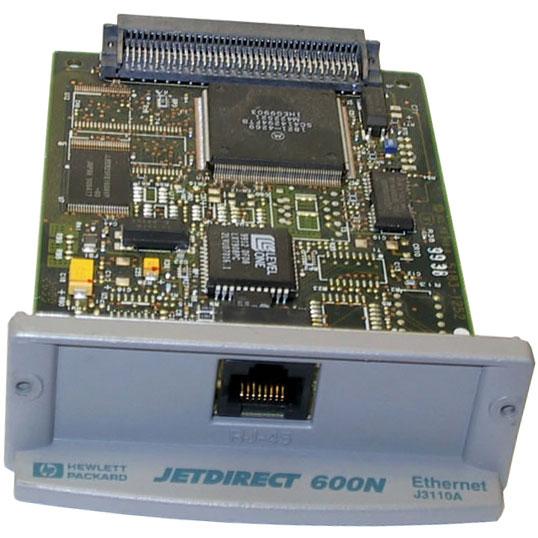Card, 80p, RJ-45, JetDirect 600N