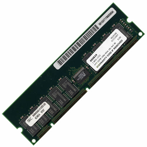Sun 501-2471-SAM 32MB 168p 60ns 18c 4x4 4K Buffered ECC FPM 5v DIMM X132M Sun Barcoded RFB