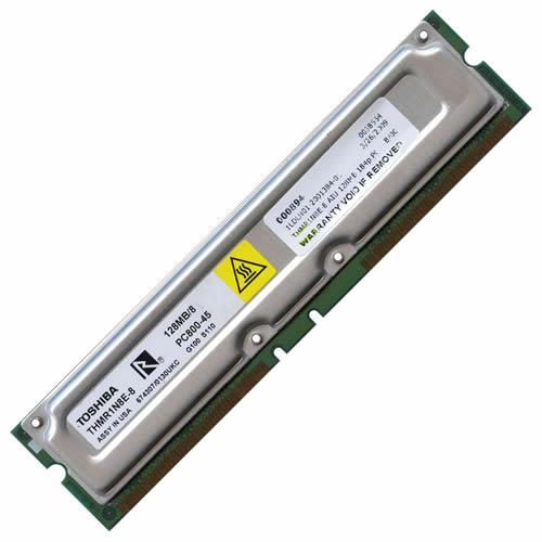 RMR20 AIU 128MB 184p PC800-45 8d nonECC RDRAM DIMM T003 RFB U.S