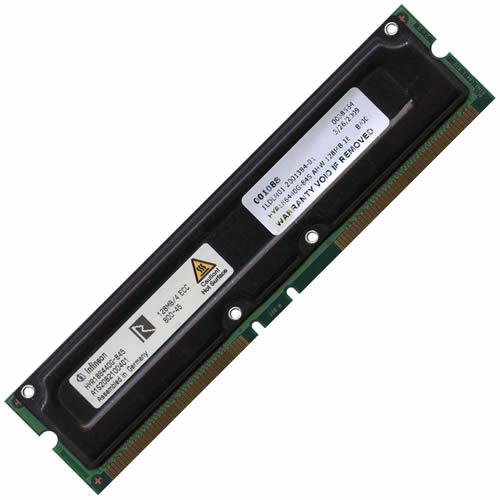 AHW 128MB 184p PC800-45 4d ECC RDRAM RIMM T003-RFB Germany