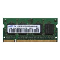 Samsung M470T6554BZ0-CD5 512MB 200p PC2-4200 CL4 8c 32x16 DDR2-533 SODIMM T004 RFB