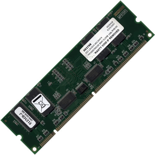 CanRAM MX2600760100 512MB 168p PC133 CL3 8c 32x8 Registered nonECC SDRAM DIMM