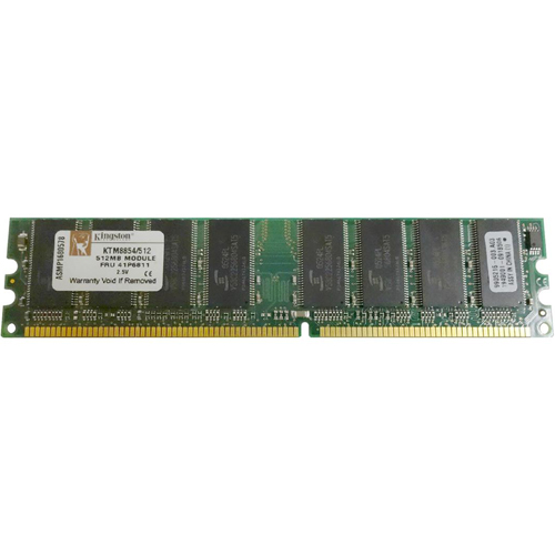 Kingston KTM8854/512 512MB 184p PC2700 CL2.5 16c 32x8 2Rx8 DDR333 2.5V UDIMM RFB
