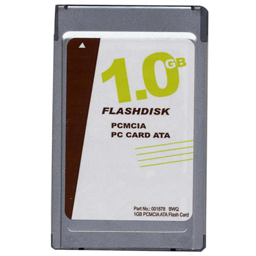 OEM ATA-1GB-MT BWQ 1GB 68p PCMCIA ATA Flash Card w/ Logo Bulk
