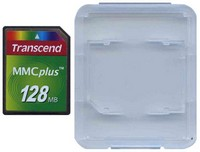 Transcend TS128MMC4 128MB 13p MMC MultiMedia Plus Card