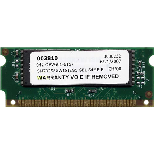 Smart SM732S8XW1SIEG1 GBL 64MB Sup720-3BXL Boot Flash Cisco Approved
