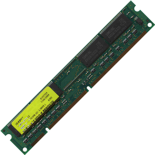 Mixed MT128U4S1616-75-ZPXX 128MB 168p PC133 CL3 4c 16x16 SDRAM DIMM RFB