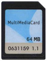 Nokia MC12H064NBCA-SA 64MB 13P MMC MultiMedia Plus Card Bulk