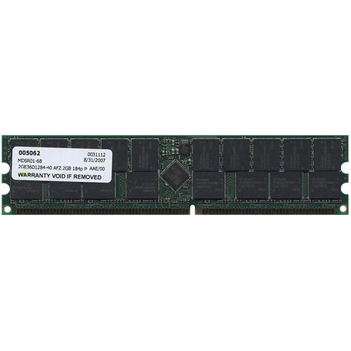 Mixed MT2GE36D1284-32ZPXX 2GB 184p PC3200 CL3 36c 128x4 DDR400 2Rx4 2.5V ECC RDIMM RFB