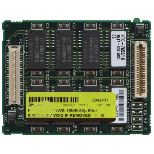 Kingston KTC7653/16 16MB 82p 60ns 8c 4x4 FPM Module Compaq Contura 400