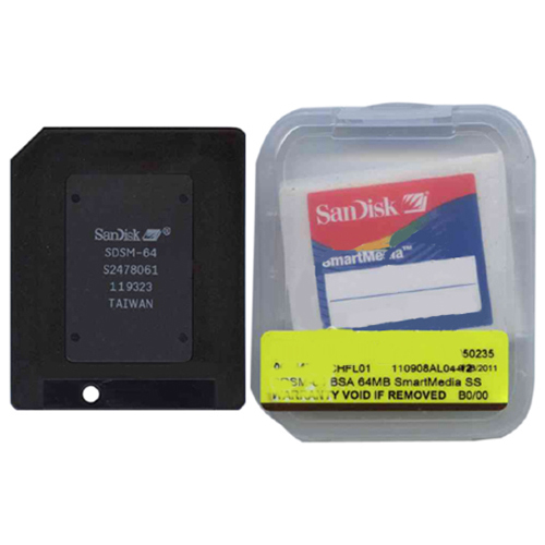 SanDisk SDSM-64 BSA 64MB SmartMedia SSFDC Card Clam