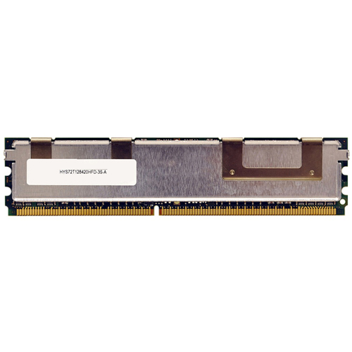 Infineon HYS72T128420HFD-3S-A 1GB 240p PC2-5300 CL5 18c 64x8 DDR2-667 2Rx8 1.8V ECC FBDIMM RFB with