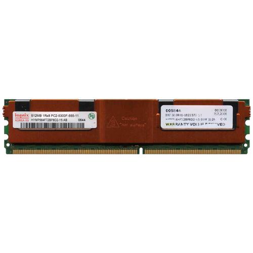 512MB 240p PC2-5300 CL5 9c 64x8 Fully Buffered ECC DDR2-667 FBDIMM w/ 3rd Party Label RFB