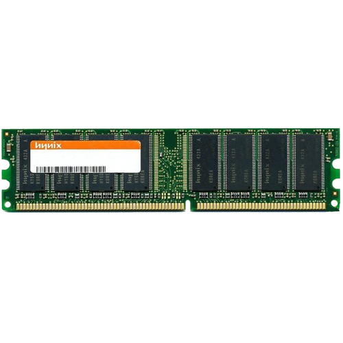 Hynix HYMD564646B8J-D43 512MB 184p PC3200 CL3 8c 64x8 DDR DIMM Apple G5 RFB