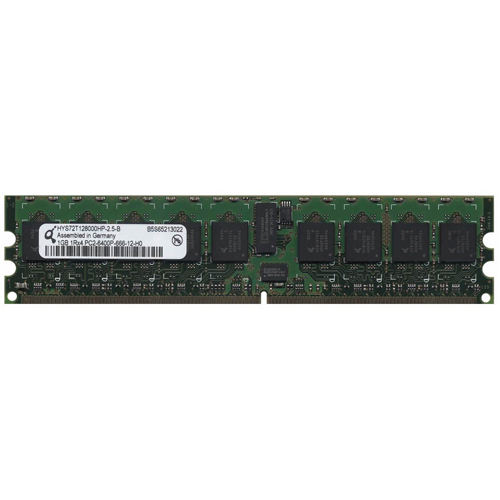 BYX 1GB 240p PC2-6400 CL6 18c 128x4 DDR2-800 1Rx4 1.8V ECC RDIMM