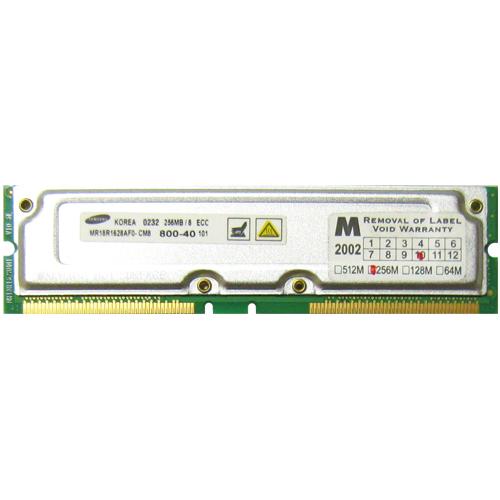 RMR32 ADR 256MB 184p PC800-40 8d ECC RDRAM RIMM RFB Korea