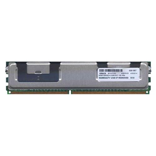 1GB 240p PC2-5300 CL5 18c 64x8 DDR2-667 2Rx8 1.8V ECC FBDIMM  RFB W/Hp label