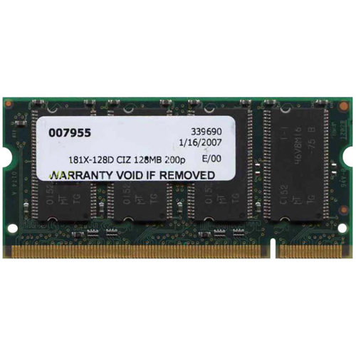 Samsung MEM181X-128D 128MB, Cisco Approved, 1811 1812 Routers Memory Modules