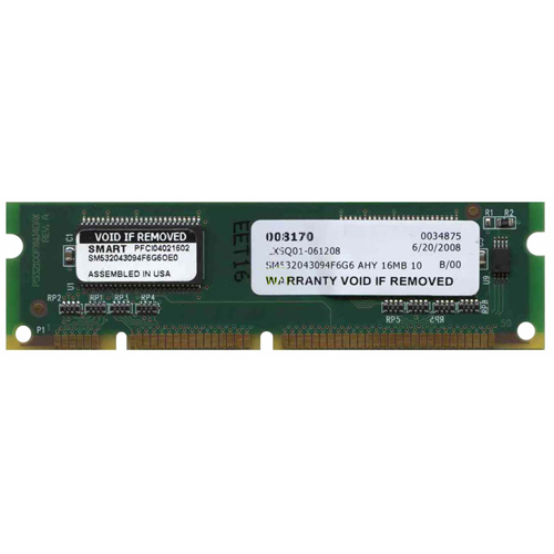 Smart SM532043094F6G6 16MB 100p PC100 CL2 2c 4x16 SDRAM SODIMM