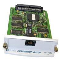 Card, 80p, RJ-45, JetDirect 610N EIO Print Server
