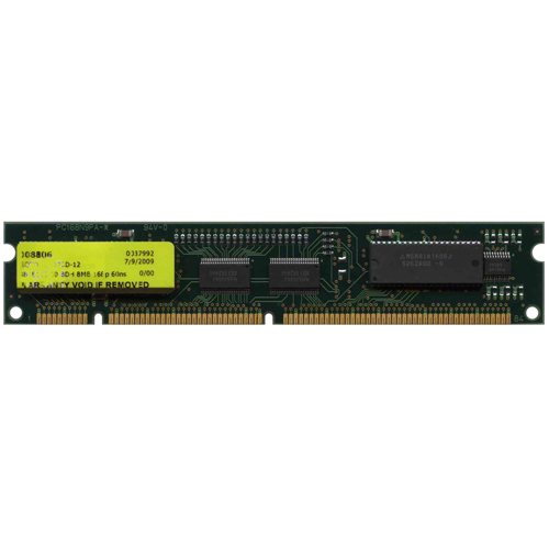 OEM 8B4E116-60 BDH 8MB 168p 60ns 4c 1x16 Buffered EDO 5V DIMM