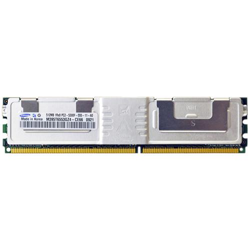 512MB 240p PC2-5300 CL5 9c 64x8 Fully Buffered ECC DDR2-667 FBDIMM