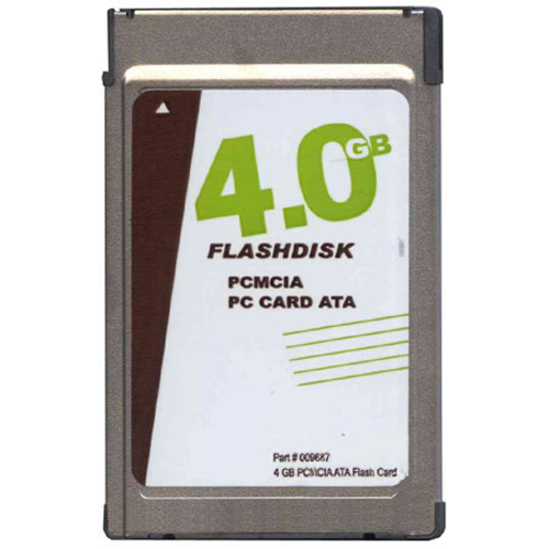 OEM 009687 CJJ 4GB 68p PCMCIA ATA Flash Card w/o logo T100