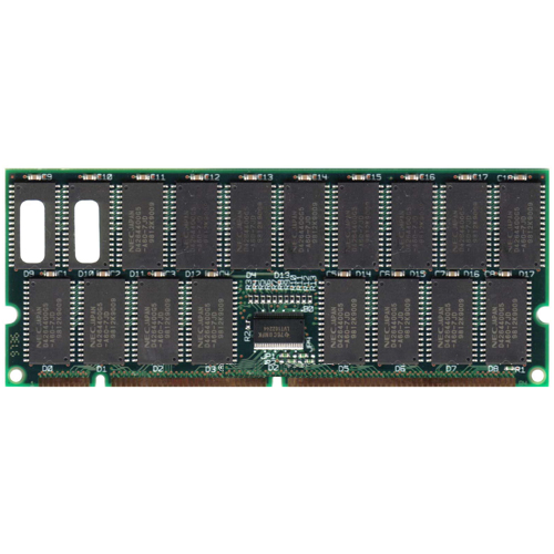Hitachi HB56AW3272E-6 256MB 168p 60ns 36c 16x4 8K Buffered ECC FPM DIMM -RFB Japan