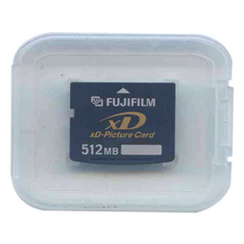 Fuji XD-512 512MB 18p xD Picture Card Type S Clam