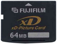 Fuji DPC-64 64MB 18p xD Picture Card Type S Bulk