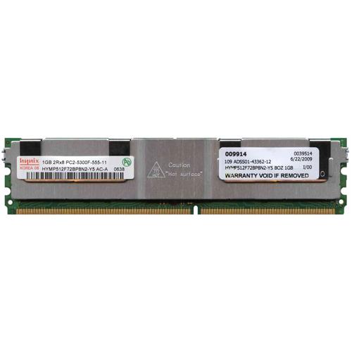 1GB 240p PC2-5300 CL5 18c 64x8 DDR2-667 2Rx8 1.8V ECC FBDIMM RFB Korea
