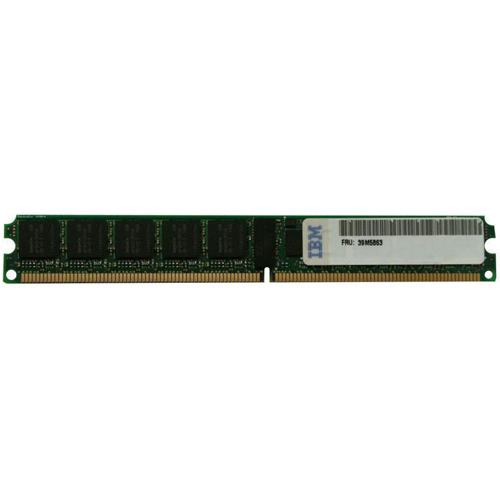 IBM 39M5863-QIM 2BTI 1GBx2 240p PC2-5300 CL5 18c 128x4 Registered ECC DDR2-667 DIMM VLP - 39M5864