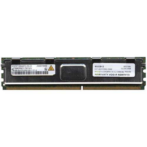 8GB 240p PC2-5300 CL5 36c 2x256x4 DDR2-667 4Rx4 1.8V ECC FBDIMM NOB Germany