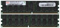 Hynix HYMP151P72CP4-Y5 BWR 4GB 240p PC2-5300 CL5 36c 256x4 DDR2-667 2Rx4 1.8V ECC RDIMM w/ 3rd party