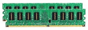 2CKU 1GBx2 240p PC2-6400 CL4 8c 128x8 DDR2-800 DIMM Retail Taiwan RoHS
