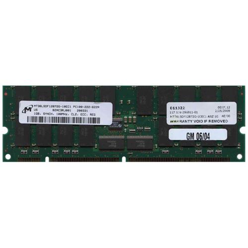 Micron MT36LSDF12872G-10EC1 ANZ 1GB 168p PC100 CL2 36c 64...