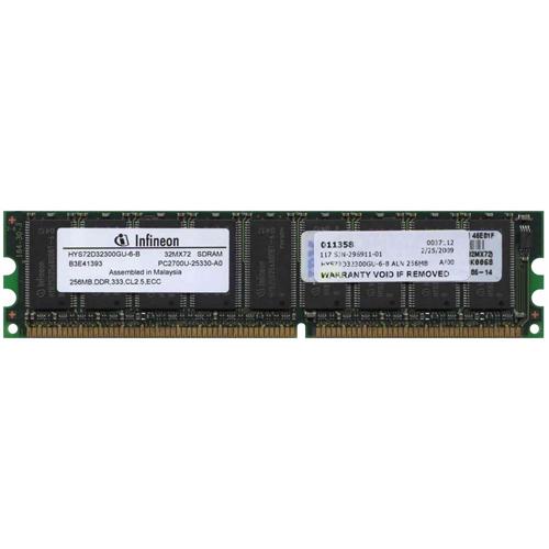 256MB 184p PC2700 CL2.5 9c 32x8 ECC DDR DIMM-RFB Malaysia