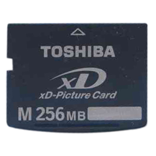 Toshiba XD256MAA BWV 256MB 18p xD Picture Card Type M Bulk