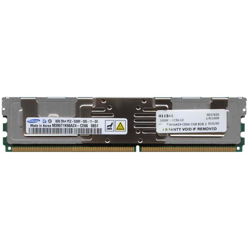 8GB 240p PC2-5300 CL5 36c 512x4 DDR2-667 2Rx4 1.8V ECC FBDIMM