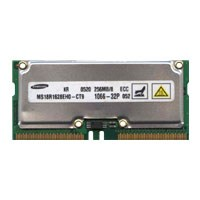 Samsung MS18R1628EH0-CT9 256MB 160p PC1066-32 ECC RDRAM SODIMM Cisco CSS5-MEM-288