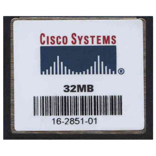 Cisco SDCFBI-32-AA010 32MB CompactFlash Card Cisco Original