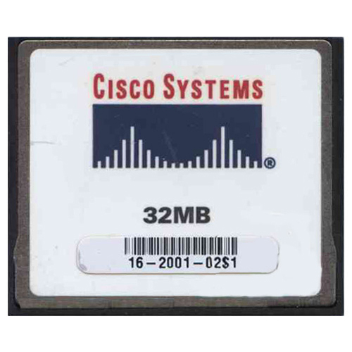 Cisco THNCF032MBAC00A 32MB CompactFlash Card Cisco Original