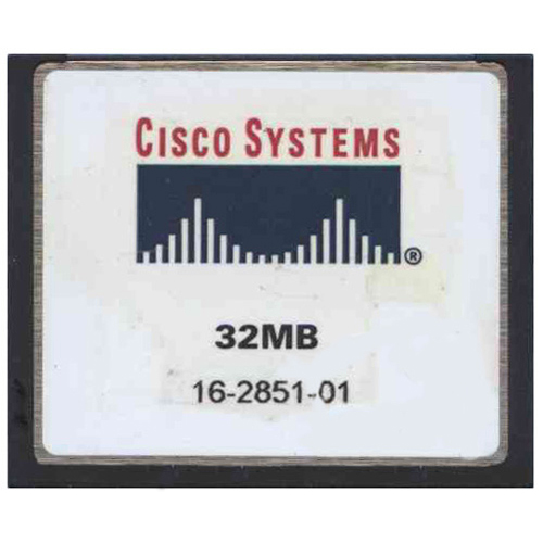 Cisco SDCFBI-32-845 32MB CompactFlash Card Cisco Original