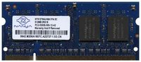 Nanya NT512T64UH8A1FN-3C BJW 512MB 200p PC2-5300 CL5 8c 32x16 DDR2-667 SODIMM T004-RFB China