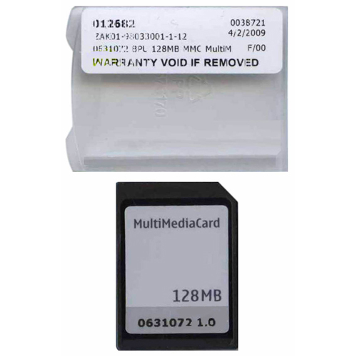 Generic 0631072 128MB 7P MMC MultiMedia Card  Clam