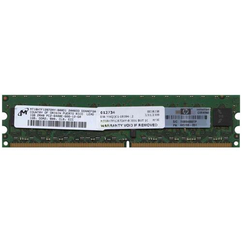 1GB 240p PC2-6400 CL6 18c 64x8 ECC DDR2-800 UDIMM