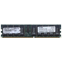 Gigaram 527774-001 2GB 184p PC3200 CL3 36c 128x4 DDR400 2Rx4 2.5V ECC RDIMM Smart Modular