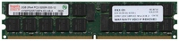 Hynix HYMP525R72BP4-E3 2GB 240p PC2-3200 CL3 36c 128x4 DDR2-400 2Rx4 1.8V ECC RDIMM  RFB W/IBM label