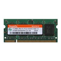 Hynix HYMP564S64P6-C4 AIT 512MB 200p PC2-4200 CL4 8c 32x1...