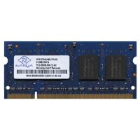 Nanya NT512T64UH8A1FN-3C 512MB 200p PC2-5300 CL5 8c 32x16 DDR2-667 SODIMM T004-NOB China